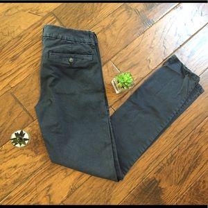 AEO Navy Skinny Pants